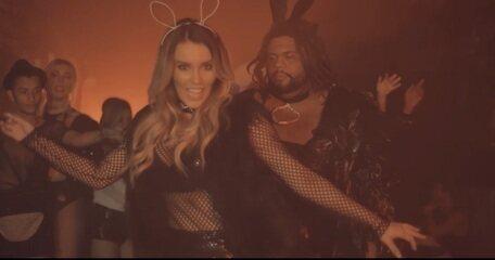 Assista a um trecho do clipe da música 'Já Deu Xabú', da cantora Katê