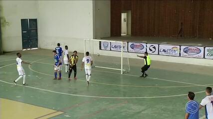 Rio Claro vira pra cima de Levy Gasparian e vence a primeira na Copa Rio Sul de Futsal