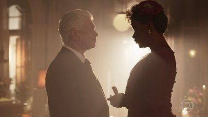 Nicota e Geraldo se casam na pensão