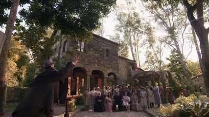 José Augusto recebe família e amigos na Quinta da Carrasqueira