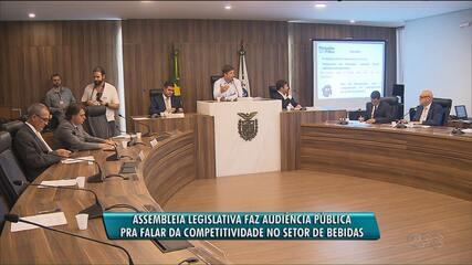 Assembleia Legislativa do Paraná discute benefícios que governo concedeu para Ambev