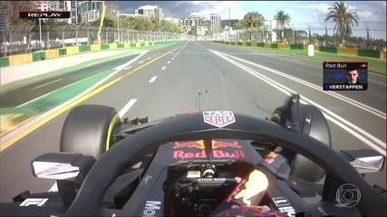 Verstappen devolve posição para Fernando Alonso após ultrapassagem irregular