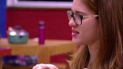 Ana Clara: 'Paula é bem BBB, né? Se arruma para ir para a sala'