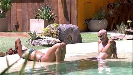 Ayrton desabafa com Paula em dia de Paredão: 'Sonho realizado'