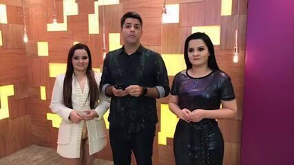 Maiara e Maraísa participam de live no Encontro