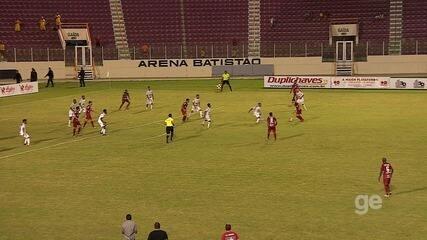 Veja os gols: Sergipe vence Lagarto no Batistão e está na final do estadual