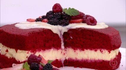 Red Velvet com Cheesecake do 'Mais Você'