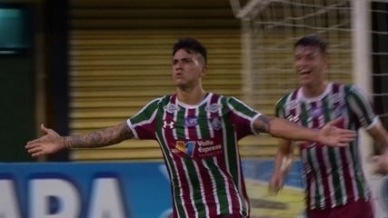 Os gols de Pedro, do Fluminense, no Campeonato Carioca 2018