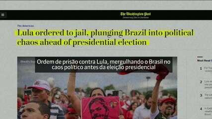 Prisão de Lula repercute no exterior
