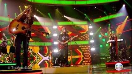Neto, Gabriel Ciríaco e João Guilherme  brilham com o reggae 'Is This Love'
