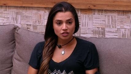 Paula sobre Jéssica: 'Está revoltada com a escolha dela'