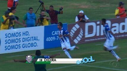 Confira os gols do clássico CSA 2 x 0 CRB, no Rei Pelé