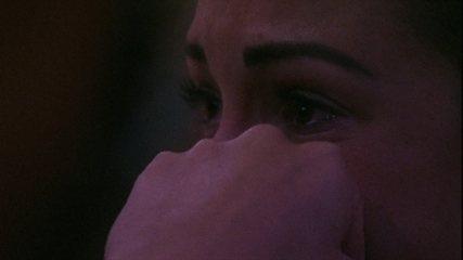 Jéssica se sensibiliza e chora no Cinema do Líder