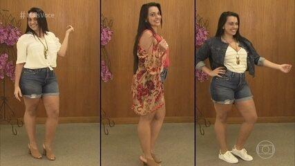 Tapa no Visual: Luana vai às compras