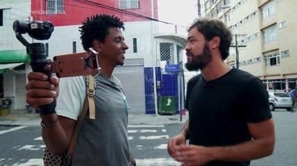 O 'Vumbora' desbrava o bairro dos Barris com o guia Arthur Daltro
