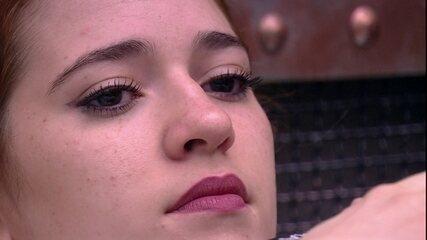 Ana Clara para Gleici: 'A gente pode sair amanhã'