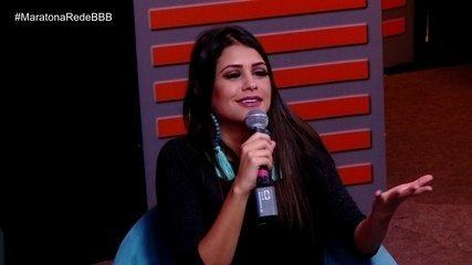 Maratona Rede BBB! Ana Paula fala sobre treta envolvendo Jaqueline e Mahmoud