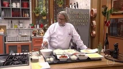 Toque do Ravioli - Desafiado, Chef prepara receitas deliciosas