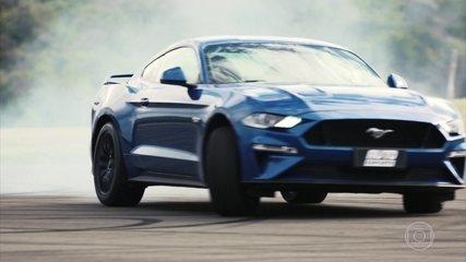 Mustang chega ao Brasil