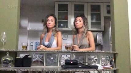 Gêmeas Marcela e Luciana comentam participação no 'The Wall'