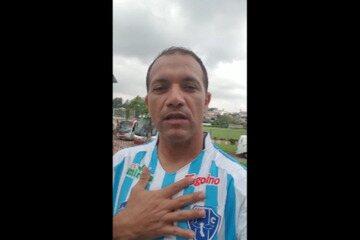 Ídolo bicolor Iarley faz o seu depoimento sobre os 15 anos da vitória sobre o Boca Juniors