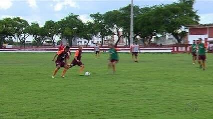 Após empate na estreia pela Série D, Sergipe foca atenções no Central