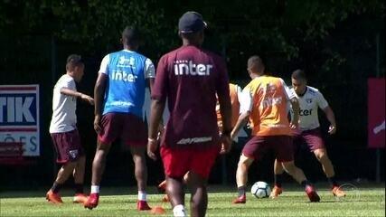 Confira como foi o treino do São Paulo nesta quarta-feira
