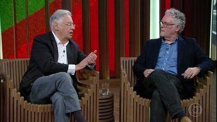 FHC e Sérgio Abranches debatem sobre coalizão