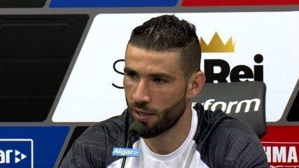 Veja o que Vanderlei, goleiro do Santos, falou em entrevista coletiva nesta sexta-feira