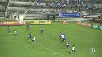 Bahia vence o Botafogo-PB por 2 a 1 pela Copa do Nordeste