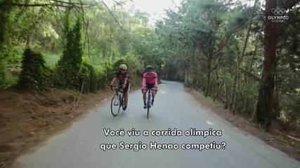 Goiabada e água de panela: os segredos dos ciclistas colombianos