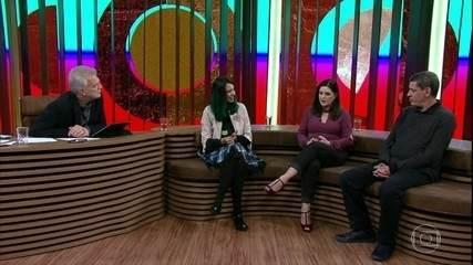 Luiz Fernando Vianna e Raquel del Monde falam sobre suas profissões e o autismo