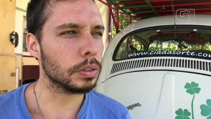 Olha Que Legal: Palhaço viajou 15 mil km de Fusca para levar teatro e cinema pelo Brasil