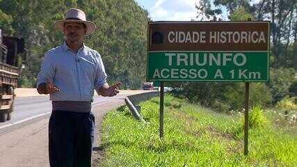 Neto Fagundes visita a cidade de Triunfo no quadro 'De Mala e Cuia'