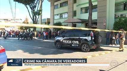 Mulher é assassinada dentro da Câmara Municipal de Contagem, na Grande BH