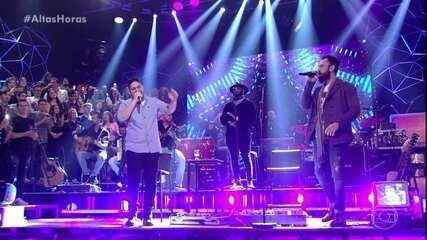 Jorge e Mateus cantam 'Propaganda'