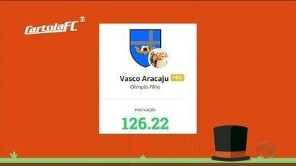 Torcedor do Vasco mita na Liga do Globo Esporte Sergipe e passa dicas para os cartoleiros