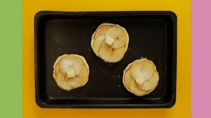 Folhado de maçã: assista ao vídeo e aprenda a fazer a receita