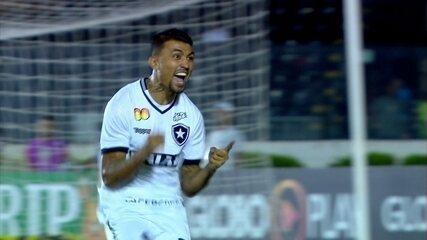 Os gols de Vasco 1 x 2 Botafogo pela 9ª rodada do Campeonato Brasileiro