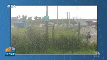BA-526: caminhoneiros fecham trecho da rodovia CIA-Aeroporto