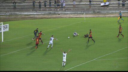 Confira os lances de Botafogo-PB 1 x 1 Globo FC, pela Série C
