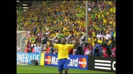 COPA 2006 - Gols de Brasil 3 x 0 Gana
