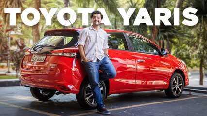 Toyota Yaris: o que ele tem de Etios e o que vem do Corolla?