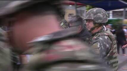 General Braga Netto supervisiona ações na Rocinha neste sábado (9)