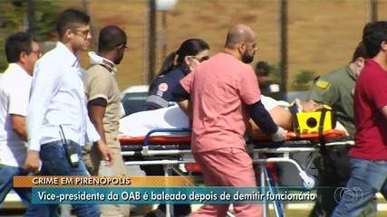 Vice-presidente da OAB-GO baleado em fazenda está com bala alojada, diz filho em áudio
