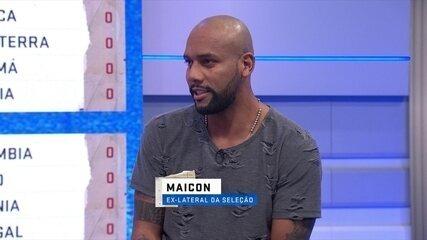 Maicon e comentaristas debatem sobre a lateral direita da Seleção Brasileira