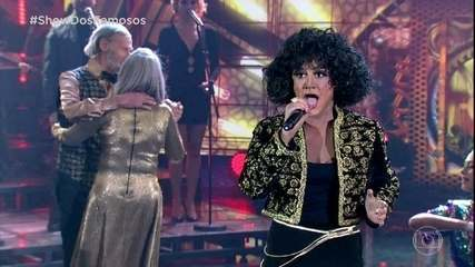 Alessandra Maestrini arrepia como Whitney Houston