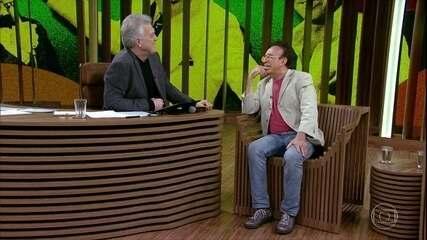 Moacyr Franco fala sobre o passado e relembra momento emocionante com o pai