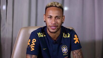 Neymar envia recado para torcedor mexicano que sofreu uma tragédia familiar