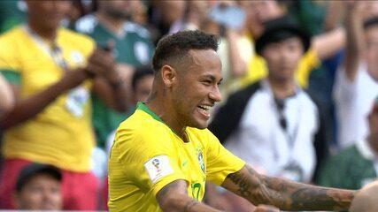 Brasil 2 x 0 México - Melhores Momentos